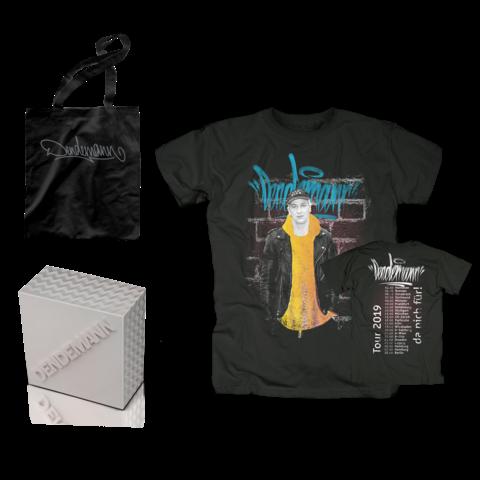 Da nich für! (Limitiertes Bundle: Box, T-Shirt, Beutel) von Dendemann - CD Bundle jetzt im Dendemann Shop